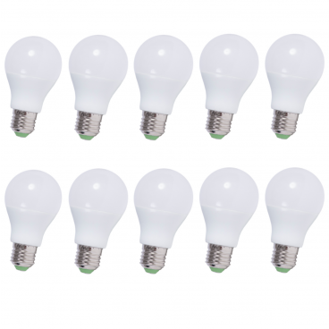 5 x 2-PACK LED lampa E27 6W 470lm