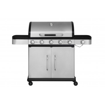 Gasolgrill MUSTANG FUEGO 5+1 RST, 145x55,5x113cm