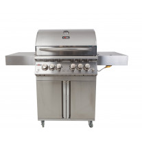 Gasolgrill KOBE PLATINUM LIMITED EDITION FULL STAINLESS STEEL 4+2