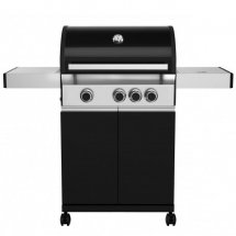 Gasolgrill LUCIFER MASTER BLACK 3 LED brännare