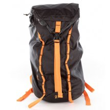 Superlätt 25l Retki Outdoor Ultra Ripstop Svart Orange