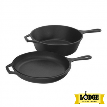 Lodge 2.84 liters Cast Iron Combo Cooker