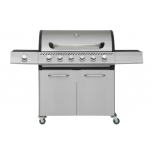 Gasolgrill MUSTANG CLARKSVILLE 6+1 RST, 154x54x110cm