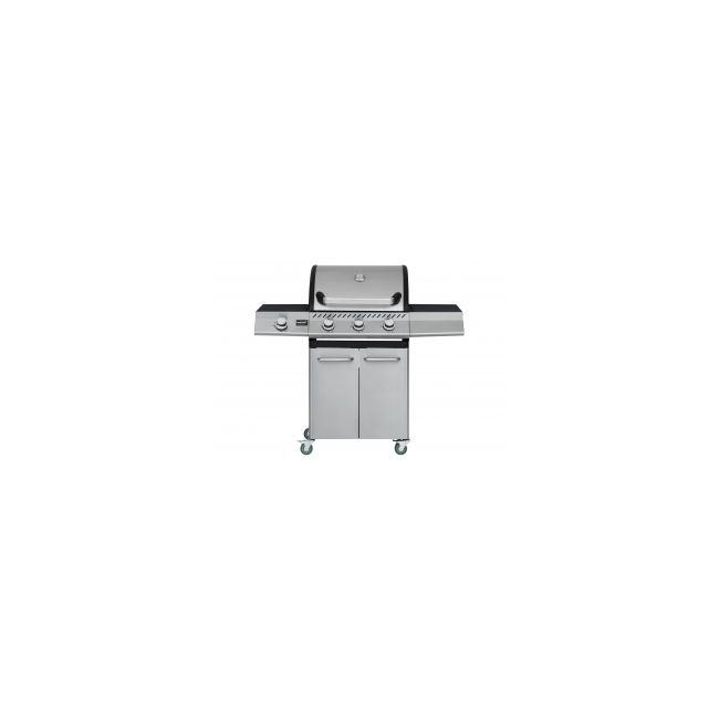 Gasolgrill MUSTANG Knoxville 3+1 RST, 124x54x111cm