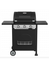Gasolgrill KOBE BLACK 3 LIMITED, 111x122x56cm